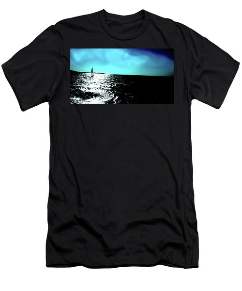 Windsurfing Greece Men's T-Shirt (Athletic Fit)