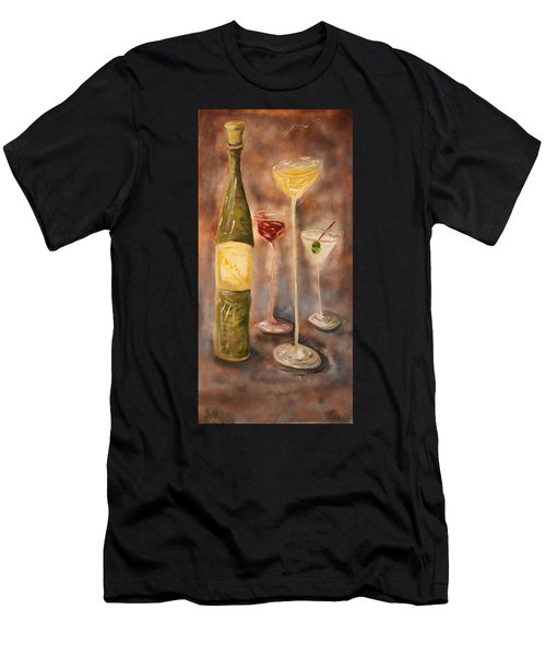 Wine Or Martini? Men's T-Shirt (Athletic Fit)