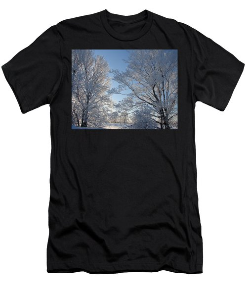 Winter Ice Men's T-Shirt (Athletic Fit)
