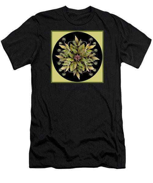 Winter Mandala Men's T-Shirt (Athletic Fit)