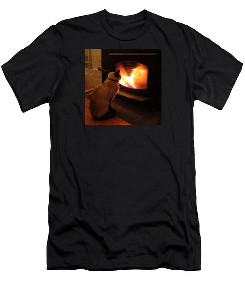 Winter Warmth Men's T-Shirt (Athletic Fit)