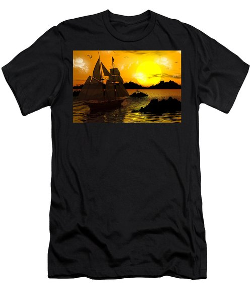 Wooden Ships Men's T-Shirt (Athletic Fit)