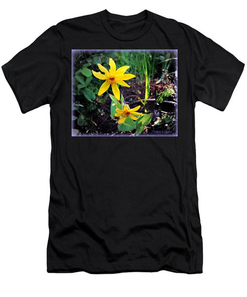 Woods Flower Men's T-Shirt (Athletic Fit)