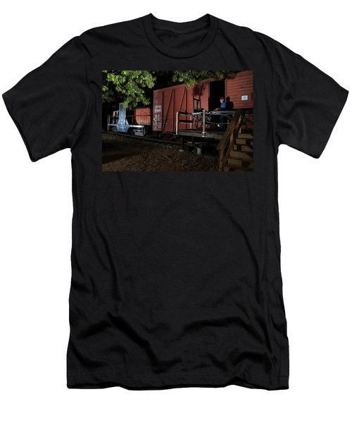 Working On The Railroad 2 Men's T-Shirt (Athletic Fit)