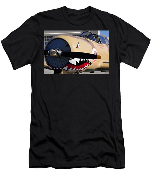 Yak Attack Men's T-Shirt (Slim Fit) by David Lee Thompson