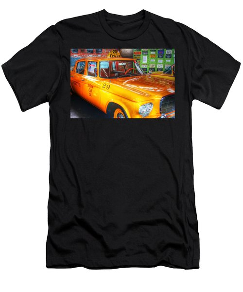 Yellow Cab No.29 Men's T-Shirt (Slim Fit) by Dan Stone