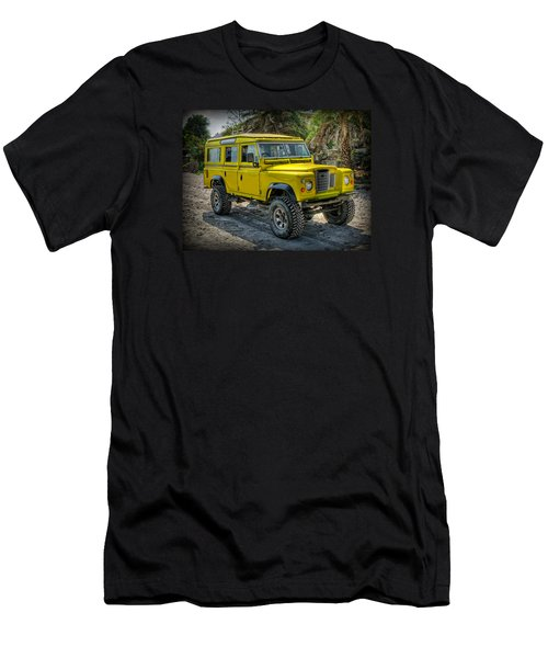 Yellow Jeep Men's T-Shirt (Athletic Fit)