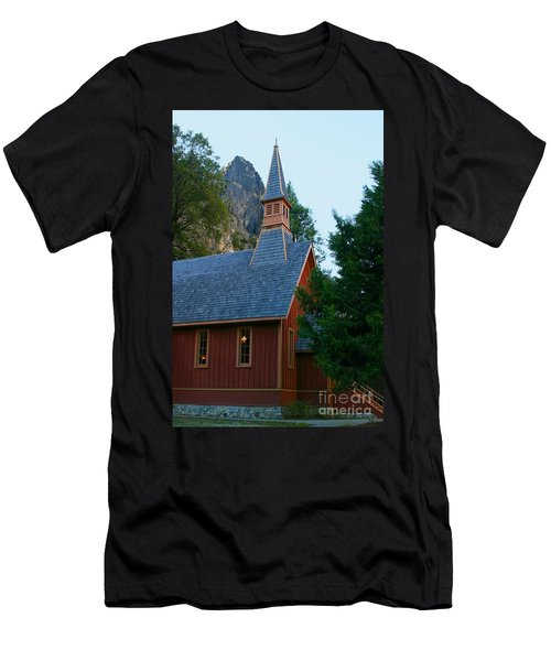 Yosemite Chapel Men's T-Shirt (Athletic Fit)