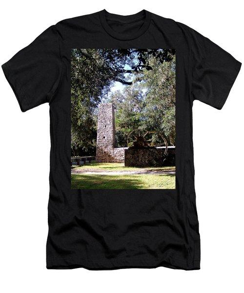 Yulee Sugarmill 1 Men's T-Shirt (Athletic Fit)