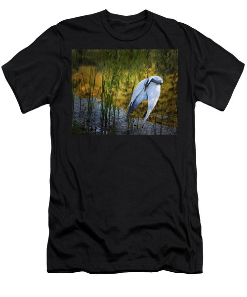 Zen Pond Men's T-Shirt (Athletic Fit)