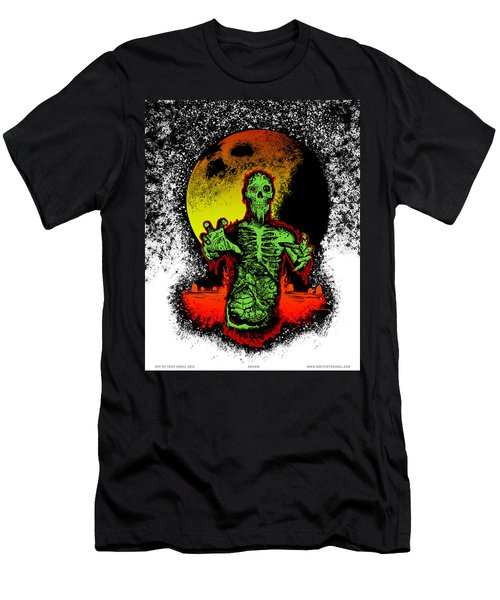 Zombie Men's T-Shirt (Athletic Fit)