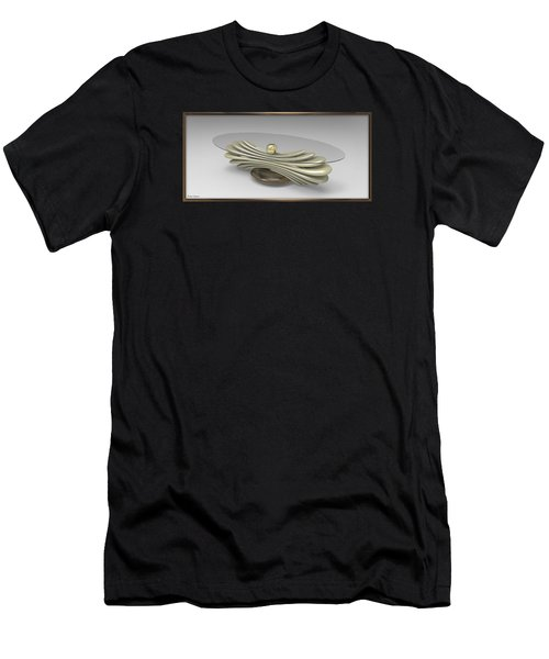 ' A Distorted Spring Table ' Men's T-Shirt (Athletic Fit)