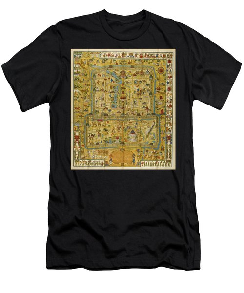 A Map And History Of Peiping Men's T-Shirt (Athletic Fit)