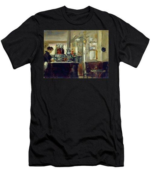 Bon Bock Cafe Men's T-Shirt (Athletic Fit)