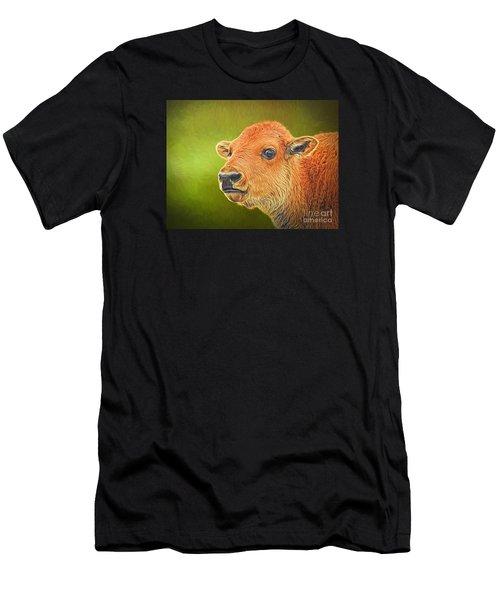 Buffalo Calf Men's T-Shirt (Athletic Fit)