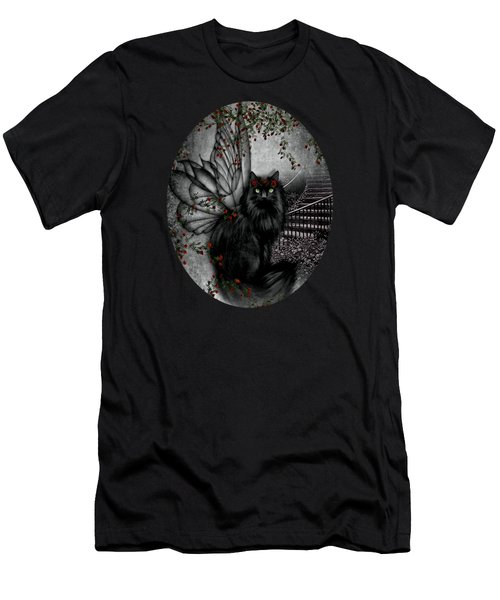 Cat Fairy Men's T-Shirt (Athletic Fit)
