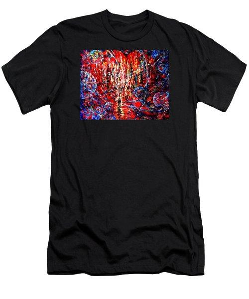City Of Light Men's T-Shirt (Athletic Fit)