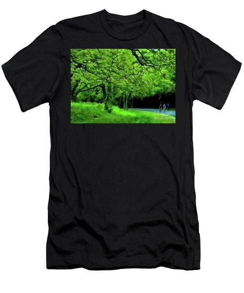 Faire Du Velo Men's T-Shirt (Athletic Fit)