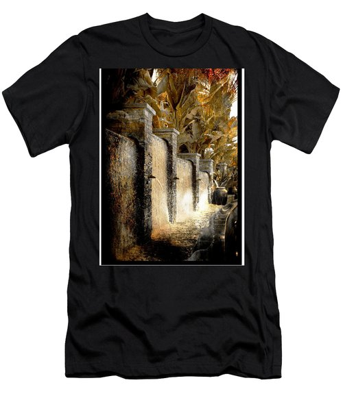 Flowing Waterfall  Men's T-Shirt (Athletic Fit)