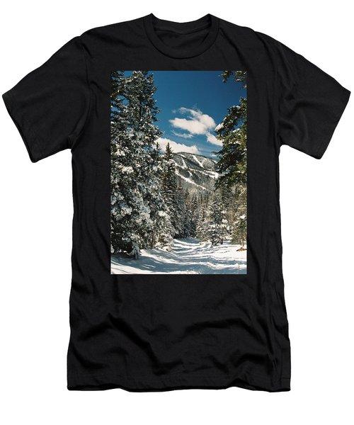 Fresh Powder Men's T-Shirt (Athletic Fit)