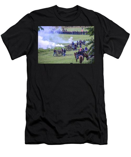 Gettysburg Union Artillery And Infantry 7439c Men's T-Shirt (Athletic Fit)