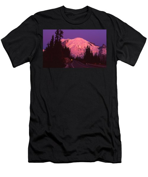 Highway To Sunrise Men's T-Shirt (Athletic Fit)