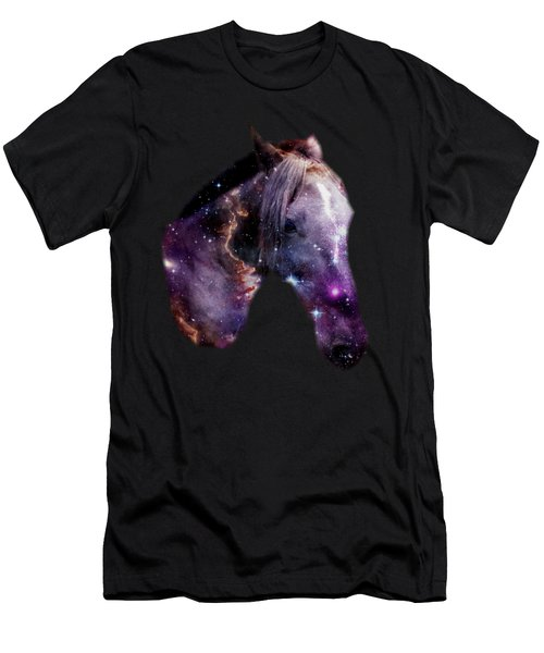 Horse In The Small Magellanic Cloud Men's T-Shirt (Athletic Fit)