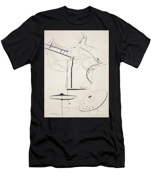 Jazz Image Men's T-Shirt (Slim Fit) by Reproduction
