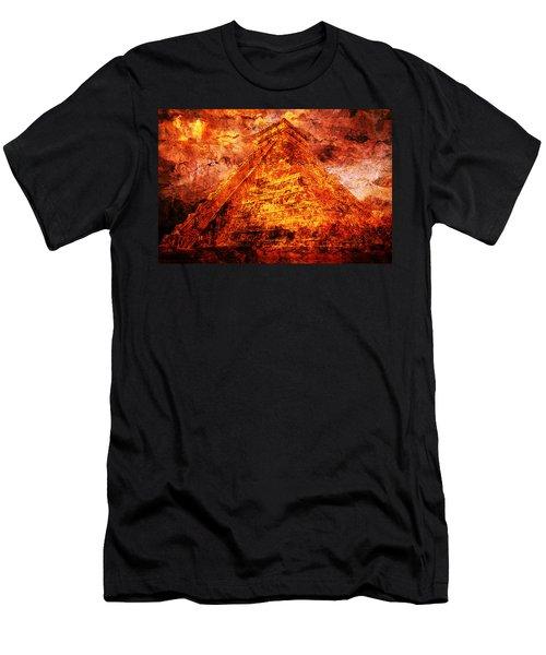C H I C H E N  .  I T Z A .  Pyramid Men's T-Shirt (Athletic Fit)