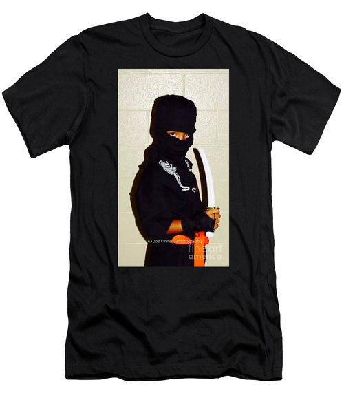 Men's T-Shirt (Slim Fit) featuring the photograph  Little Ninja - No.1998 by Joe Finney