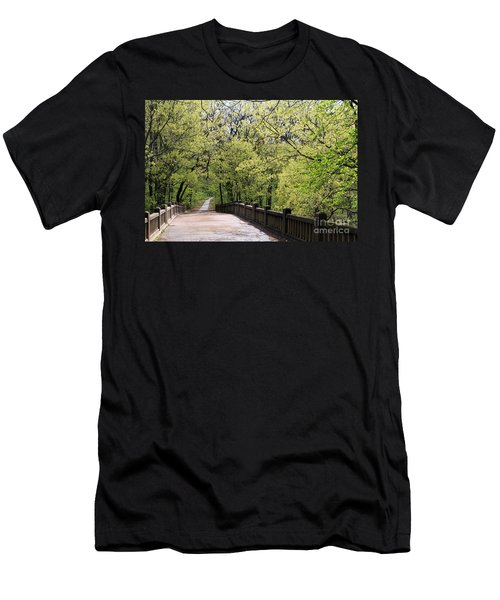 Men's T-Shirt (Slim Fit) featuring the photograph  Matthiessen State Park In Spring by Paula Guttilla