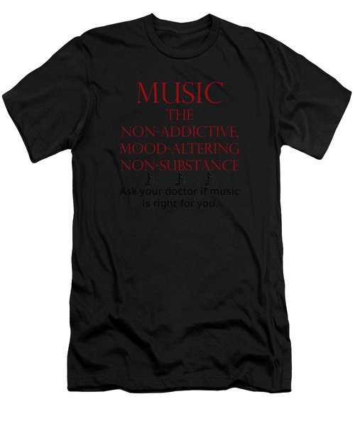 Music Mood Altering Men's T-Shirt (Athletic Fit)