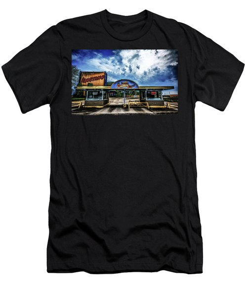 Mustang Drive In Men's T-Shirt (Athletic Fit)