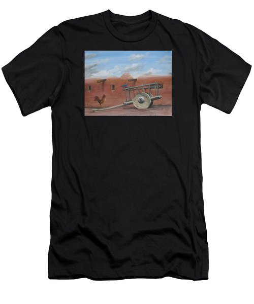 Old Spanish Cart  Men's T-Shirt (Athletic Fit)