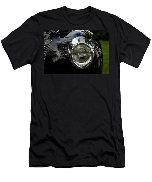Men's T-Shirt (Slim Fit) featuring the photograph  One Eye 13128 by Guy Whiteley