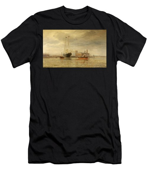 Opening Of The Royal Edward Dock, Avonmouth Men's T-Shirt (Athletic Fit)