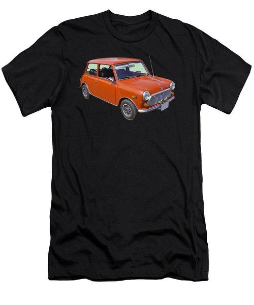 Red Mini Cooper Men's T-Shirt (Athletic Fit)