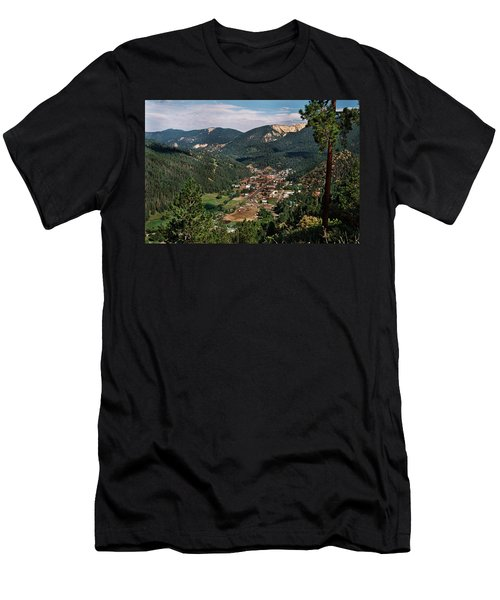 Red River At Sunrise Men's T-Shirt (Athletic Fit)