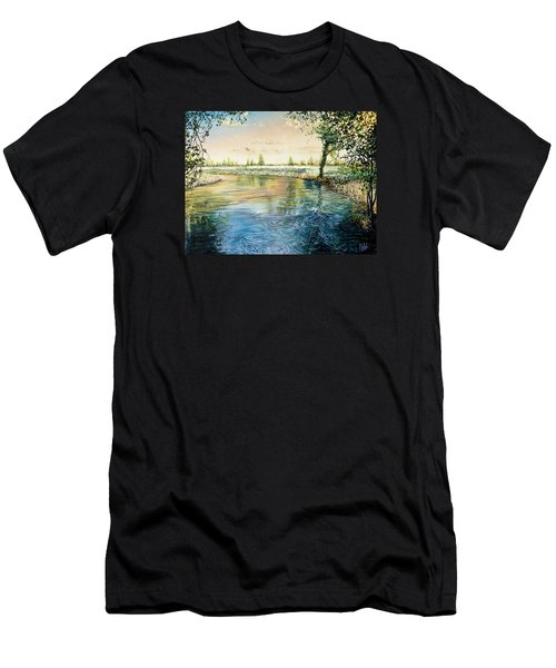 River Bend Men's T-Shirt (Athletic Fit)
