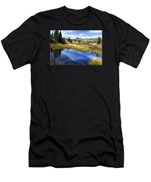 Men's T-Shirt (Slim Fit) featuring the photograph  Road To Steamboat Lake by John Hix