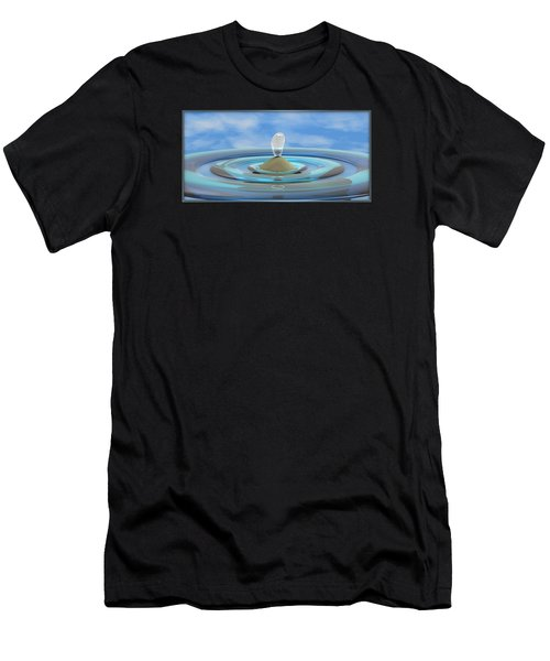 ' Sea Creature Descends ' - Digital Art Format Men's T-Shirt (Athletic Fit)