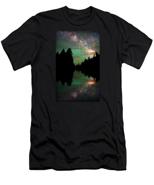 Starry Dreamscape Men's T-Shirt (Slim Fit) by Matt Helm