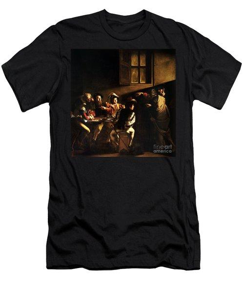 The Calling Of Saint Matthew Men's T-Shirt (Athletic Fit)