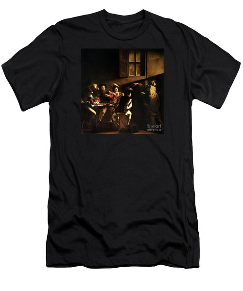 The Calling Of Saint Matthew Men's T-Shirt (Athletic Fit)