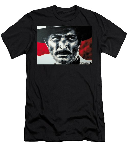 - The Good The Bad And The Ugly - Men's T-Shirt (Slim Fit) by Luis Ludzska