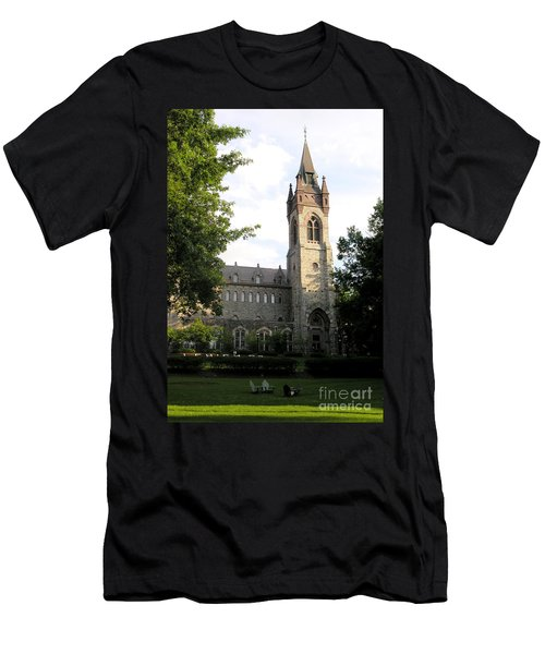 University Center - Lehigh University Men's T-Shirt (Athletic Fit)