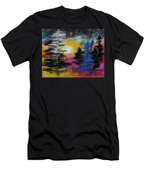 Valley Of The Moon Men's T-Shirt (Athletic Fit)