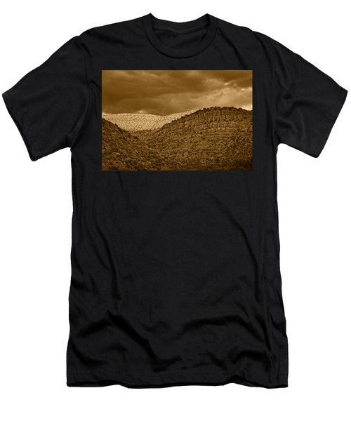View From A Train Tnt Men's T-Shirt (Athletic Fit)