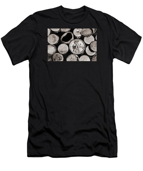 Men's T-Shirt (Slim Fit) featuring the photograph  Vintage Opener  by Andrey  Godyaykin