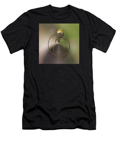 Wood Warbler Men's T-Shirt (Athletic Fit)